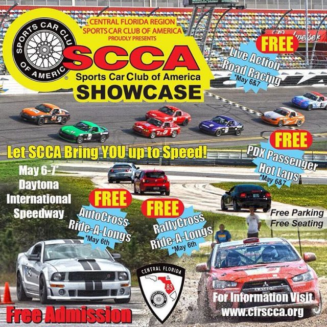 Come join SCCA for our showcase event May 67 athellip
