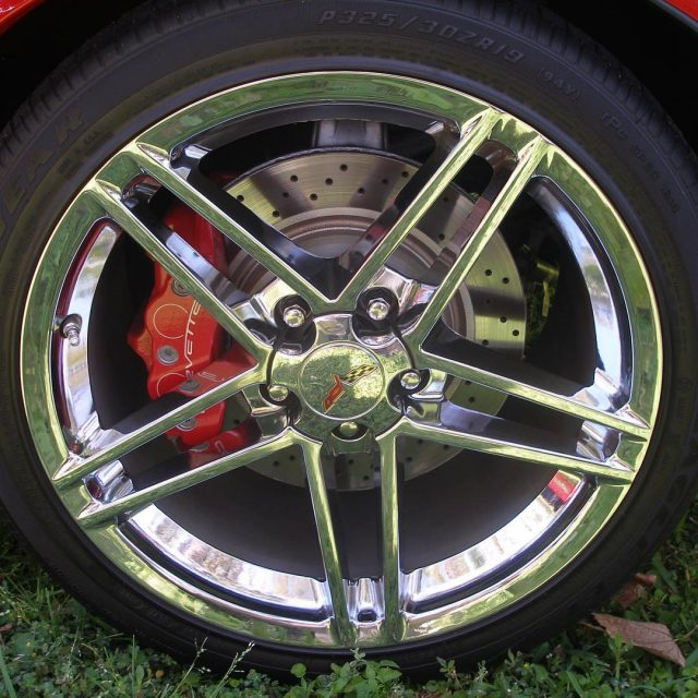 to shiny wheels and big brakes at the SCCA Showcasehellip