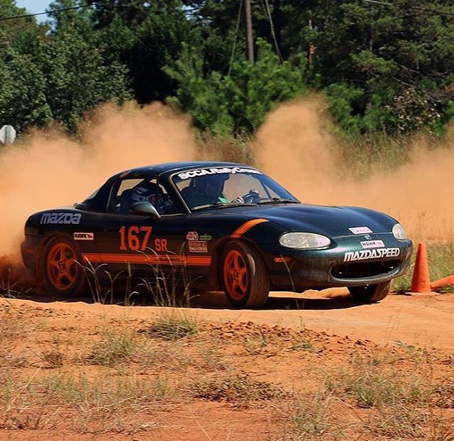 Miatas can play RALLY CROSS too at the SCCA Showcasehellip