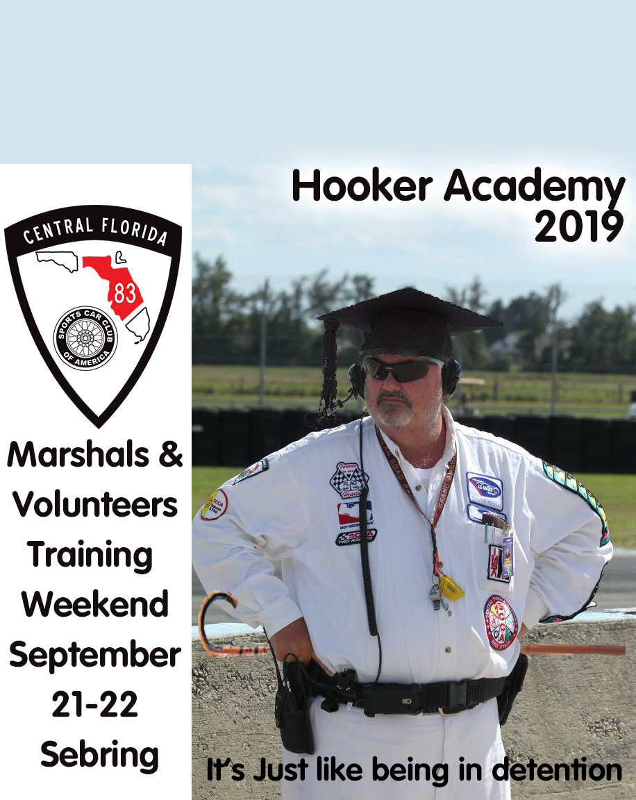 Marshal and Volunteer Worker School 2019